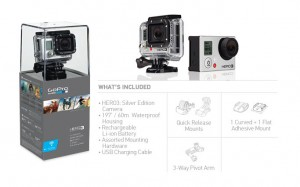 Buy Gopro Hero 3 Silver Edition at lowest Price in India