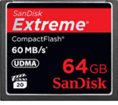 SANDISK MEMORY CARDS SANDISK CF CARDS 64GB MEMORY CARD