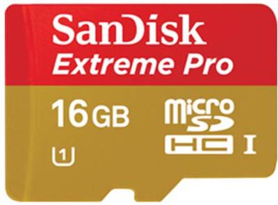 SANDISK MEMORY CARDS SANDISK MICROSD 16 GB MEMORY CARD
