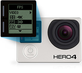gopro hero 4 black price in india