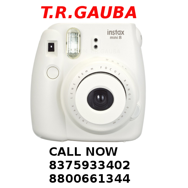 FUJIFILM MINI 8 INSTAX WHITE CAMERA - INSTANT CAMERA - FUJI CAMERA DEALER
